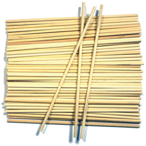 "Wood Craft Dowels 6/""-Natural 5//32/"" 60//Pkg Krafty Kids Craft Qualtity"