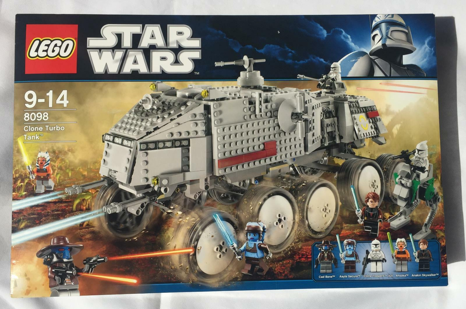 Star Wars LEGO  Clone Turbo Tank (8098) NEW MINT