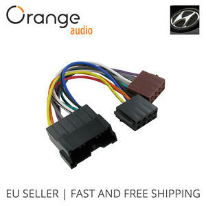 wiring harness adapter for hyundai accent 99 iso connector stereo rh ebay com