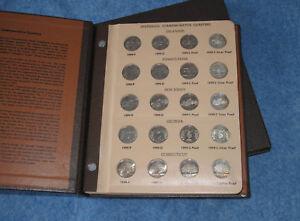 1999-2008PDS-amp-Silver-Statehood-Quarter-Complete-200-Coin-Set-in-Dansco-E0738