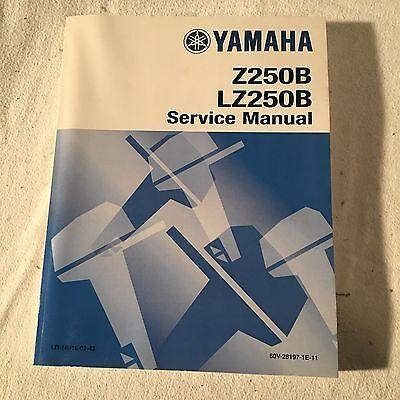 Yamaha Z250B LZ250B Service Manual
