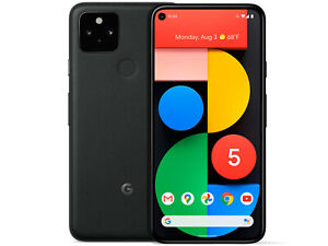 Google Pixel 5 (5G) 128GB - Black EUROPA[NO-BRAND] GARANZIA 24 MESI