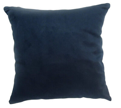 Mg03a Navy Blue Soft Faux Micro Suede Fabric Cushion Cover//Pillow Case*Custom Si