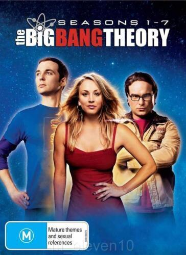 1 of 1 - The Big Bang Theory SEASONS 1 - 7 : NEW DVD