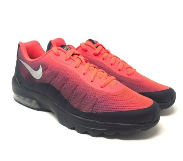 NEW NIKE Air Max Invigor Print Men's Running Shoes SOLAR RED 749688 602 Size 11