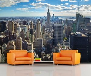 EMPIRE STATE BUILDING NYC SKYLINE Photo Wallpaper Wall Mural