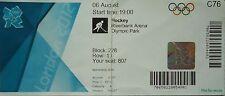 Eintrittskarte Olympia 6.8.2012 Women's Hockey Großbritannien - Niederlande C76