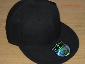 BRAND NEW PLAIN FITTED HAT CAP ETHOS FLAT PEAK HIP HOP BASEBALL LIME GREEN