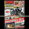 MOTO JOURNAL N°1923 SUZUKI RG 500 YAMAHA FJR 1300 HONDA VFR 1200 MOTO TOUR 2010