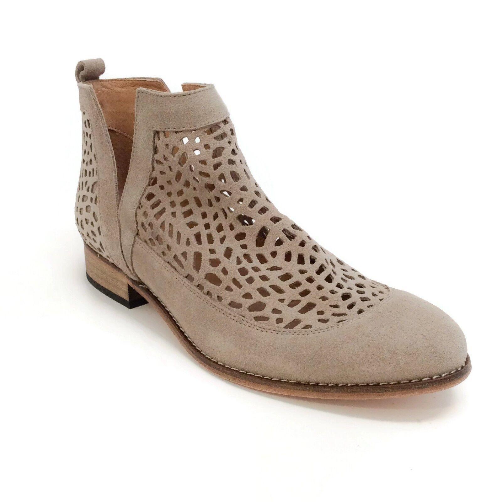 qualità di prima classe Howsty Nekal Nekal Nekal Perforated Ankle stivali Mink RETAIL  328  disegni esclusivi