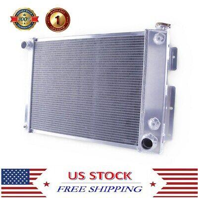 Top Quality 3ROW Aluminum Radiator For Small block Chevy Camaro Z28 1967-1969