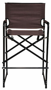 Chairs gt see more durable steel folding tall directors chair by