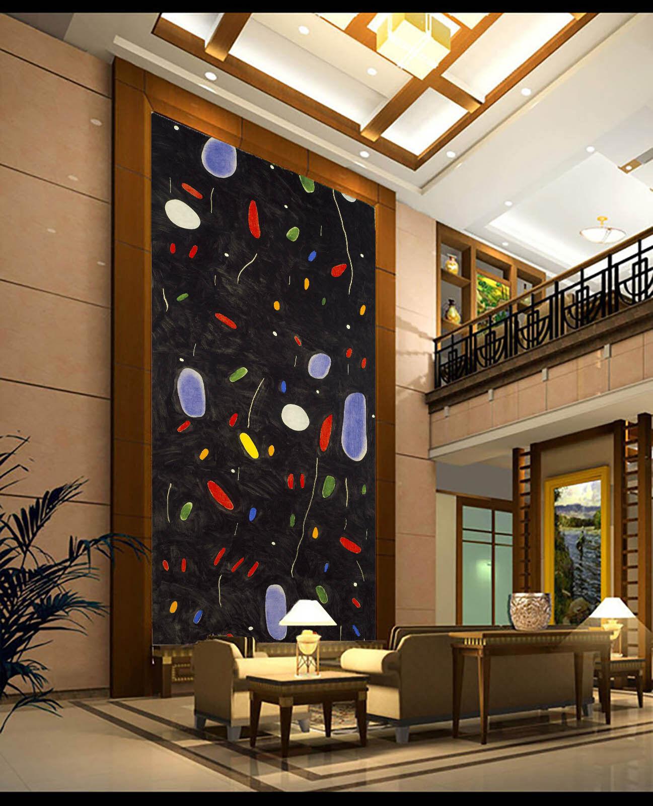 3D Kreative Farbige Steine 88 Tapete Wandgemälde Tapete Tapeten Bild Familie DE
