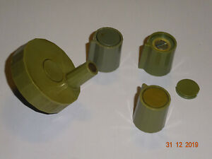 SEG-15-Knoepfe-Set-RFT-Funkwerk-Koepenick-4-Stueck