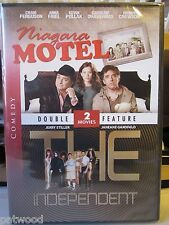 Double Feature: Niagara Motel / The Independent (DVD, 2007), NEW, Same Day Ship