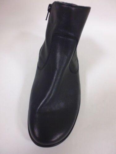 H Gefüttert 40 6 Stiefeletten Schuhe Leder Gr Blau Waldläufer Warm 5 W twX0qz