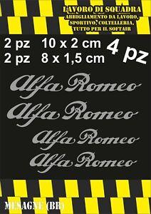 KIT-4-ADESIVI-ALFA-ROMEO-sticker-PINZE-FRENO-MITO-147-159-GIULIA-STELVIO-ARGENTO