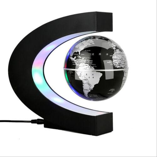 "Plug-in Table Light 3.5/"" Magnetic Suspension Globe Table Lamp Bedroom Livingroom"