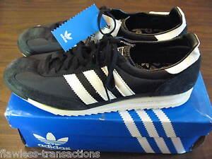 ADIDAS ORIGINALS SL 72 Retro Black Training Track Shoes Size Mens 12 ... b2ba62e8f