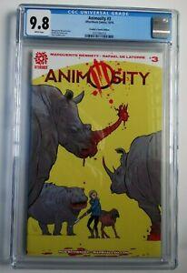 Animosity-3-Frankie-Comics-Edition-Strahm-Aftershock-Comics-Ltd-to-150-CGC-9-8