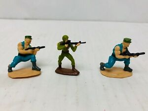 GI-Joe-Micro-Minis-Figures-set-Lot-Gung-Ho-amp-Grunt-vintage-ARAH-Hasbro-Toys