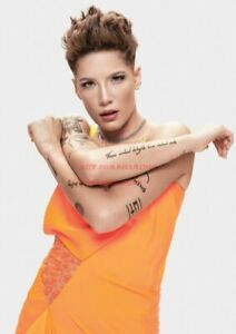 2 24 inch X 36 inch HALSEY Hollywood Celebrity Art Photo Poster