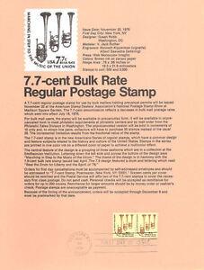 7624-7-7c-Saxhorns-Stamp-1614-USPS-Souvenir-Page