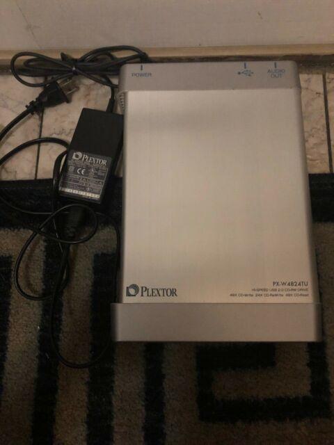 PLEXTOR HI-SPEED USB 2.0 CD-RW DRIVE, PX-W4824TU-PLEXWRITER 48/24/48U