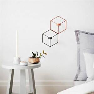 Nordic-Style-Metal-Candlestick-Wall-Mounted-Candle-Holder-Geometric-Decor-YI