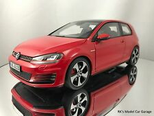 Norev Volkswagen VW Golf VII GTI 3 Door Hatchback 2013 Red Diecast Model 1/18