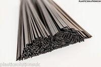 PP/EPDM Plastic welding rods mix black 160 pcs triangle&flat car bumpers repairs