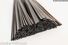 PP/EPDM Plastic welding rods mix black 80pcs triangle&flat car bumpers repairs