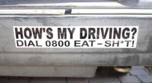 039-How-039-s-My-Driving-039-Funny-Rude-Car-Sticker-for-Ford-Renault-Peugeot-Transit