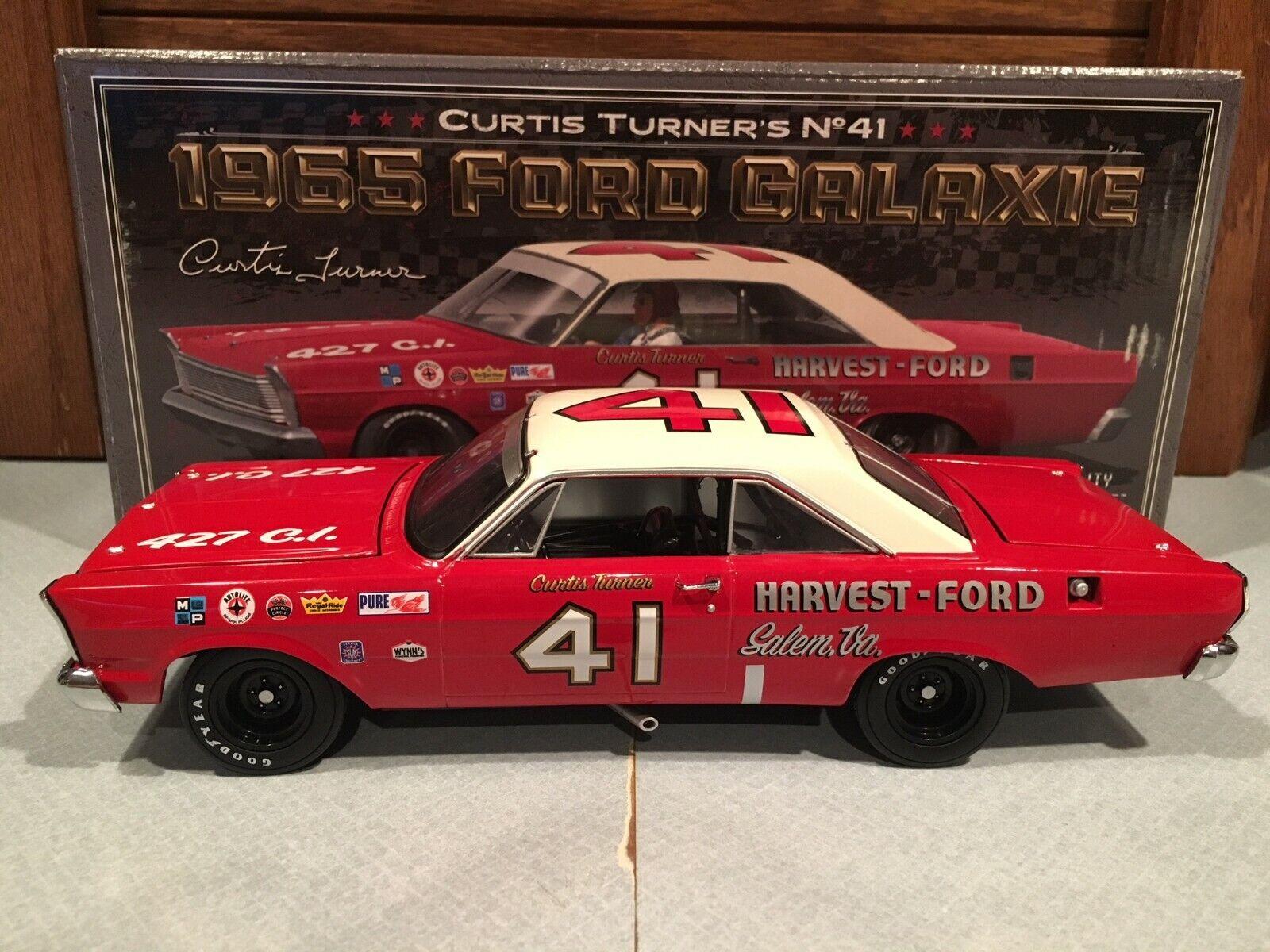 University of Racing 1965 Curtis Turner  41 Harvest Ford  Galaxie 1 24  sortie en ligne