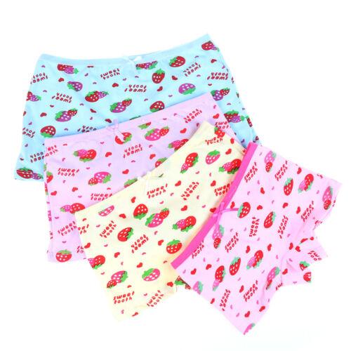 1pc Children Briefs Underwear Knickers Cute Boxer Kids Underpants Girls Sho CL