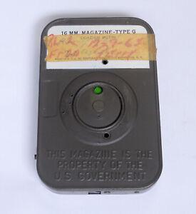 Eastman-KODAK-16mm-Cine-Film-Magazine-Type-G-US-Government-Military-Equipment