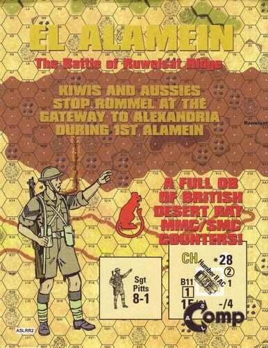 Ruweisat Ridge: The First Battle of Alamein: El Alamein ASL Comp NEW