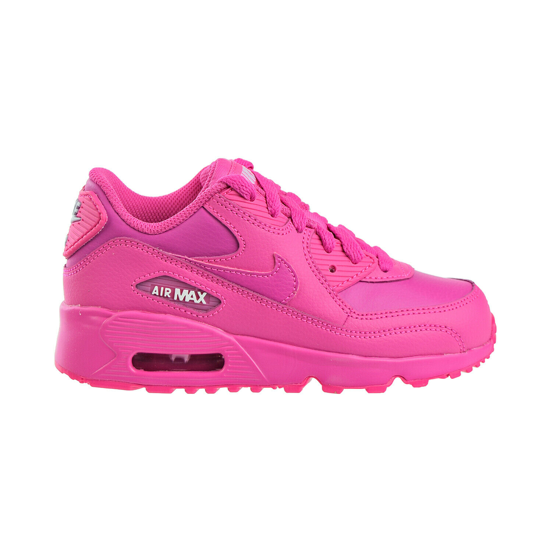 Nike Air Max 90 LTR (PS) Little Kids Shoes Laser Fuchsia 833377 603