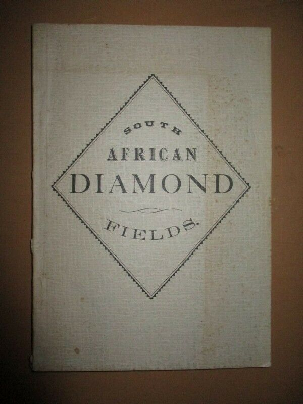 South African diamond fields by A H Hornsby