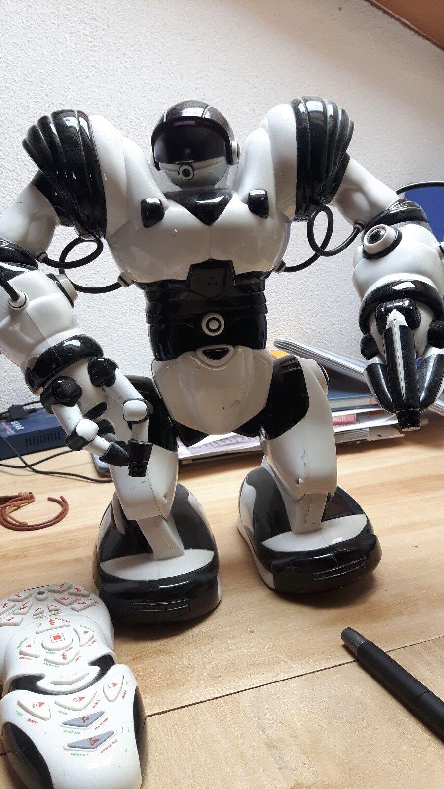 Roboter (2005) schwarz weiß Funktionen nicht garantiert  (35 cm , 1kg )