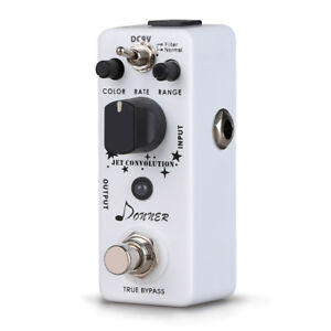 best donner jet convolution flanger guitar effect pedal free shipping ebay. Black Bedroom Furniture Sets. Home Design Ideas