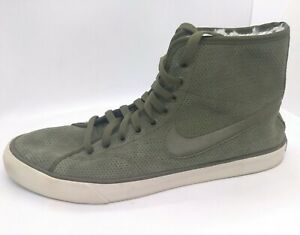 NIKE Women 9.5 Primo Court Suede Mid
