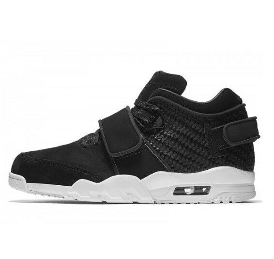 New Nike Air V Cruz Homme Boys Chaussures Trainers Trainers Trainers Hi Top Blanc Noir6 6.5 7 a36202