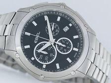 EBEL Classic Sport cronografo NUOVO acciaio/acciaio UVP 2200 € Orologio
