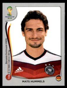 Panini-World-Cup-2014-Swiss-Platinum-Version-Mats-Hummels-Germany-No-494