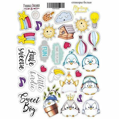 Stickers autocollants couleur Fabrika Décoru BABY GIRL