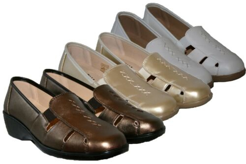 LADIES LIGHTWEIGHT SLIP ON COMFY CASUAL SHOE IN 3 COLOURS SIZES 3-8