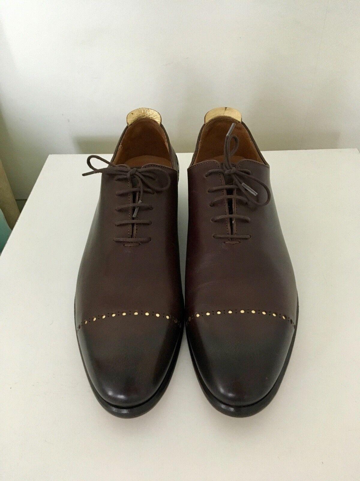 JUSTIN Deakin HAND MADE Scarpe da uomo in pelle UK9 Scarpe classiche da uomo