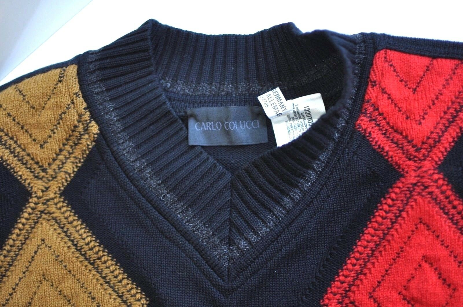 Carlo Colucci Mens sweater made in Germany size 52