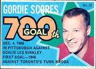 1968 - 1969 O-PEE-CHEE Puck Stickers Gordie Howe Detroit Red Wings #22 Hockey Card